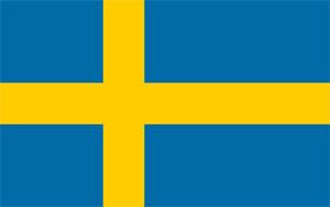Zweden Vlag
