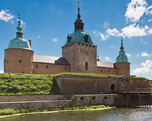 Kalmar Slott Kasteel van Kalmar Zweden