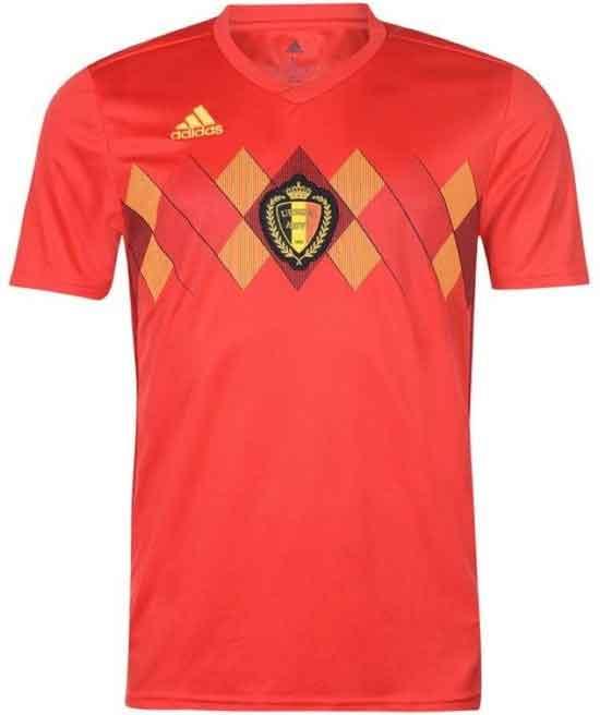 Belgisch Elftal WK 2018 Thuisshirt