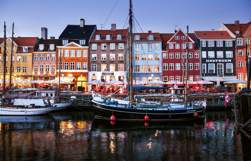 Kopenhagen Bezienswaardigheden Kaart (Nyhavn)