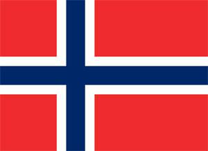 Noorwegen Informatie Overzicht (Noorse Vlag)