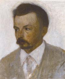 Deense Schilders Vilhelm Hammershoi Zelfportret