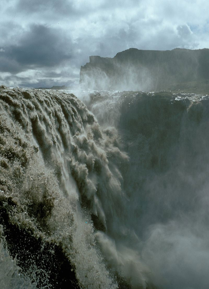 Dettifos Waterval in IJsland