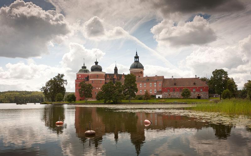 Kastelen in Zweden (Gripsholm)