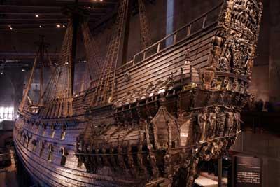 Vasa Museum Stockholm (Schip de Vasa)
