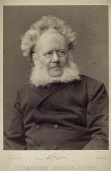 Bekende Noren Henrik Ibsen