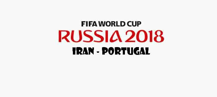 Iran Portugal WK 2018 Opstelling Uitslag Stand Wedstrijd