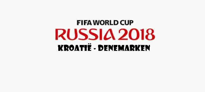 Kroatië Denemarken WK 2018 Opstelling Prognose Uitslag Wedstrijd