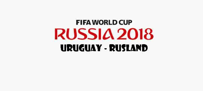 Uruguay Rusland WK 2018 Opstelling Uitslag Wedstrijd