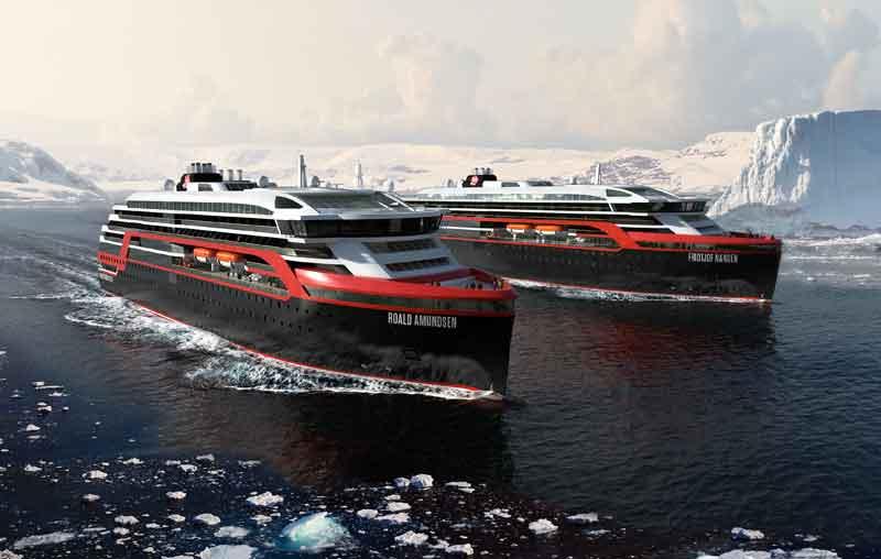 Noorse Cruiseschepen Cruiseschip uit Noorwegen