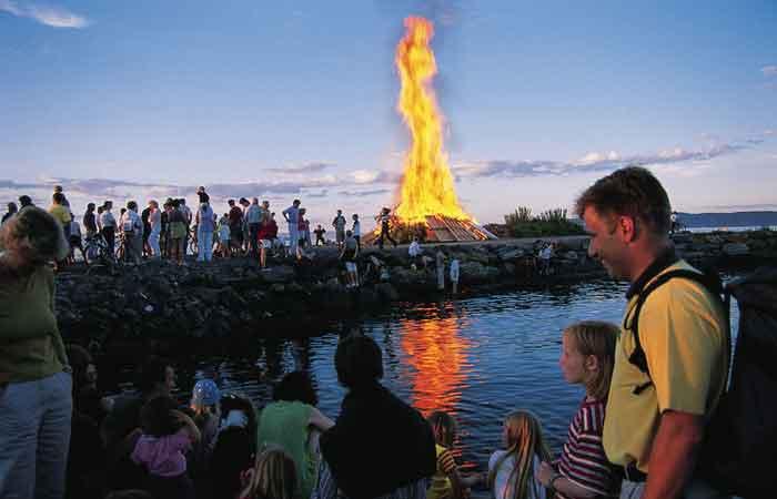 Noorse Feestdagen Feest in Noorwegen