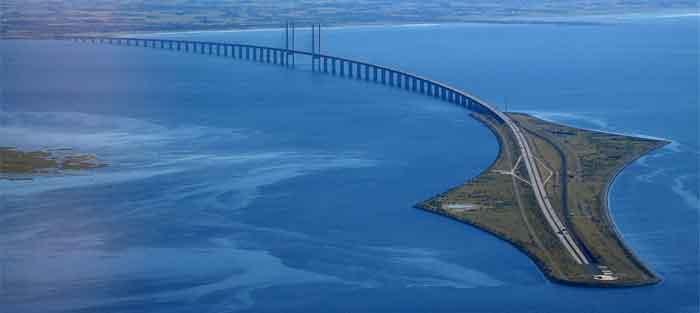 Afstanden Denemarken Wegennet Kilometers