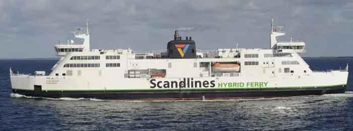 Veerboten Scandinavië Veerdiensten Scandlines