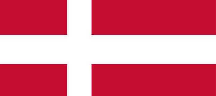 Deense Steden Stad in Denemarken.
